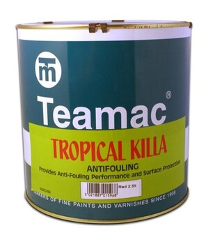 Foto - MÜRKVÄRV- TEAMAC TROPICAL KILLA, MUST, 2,5 l