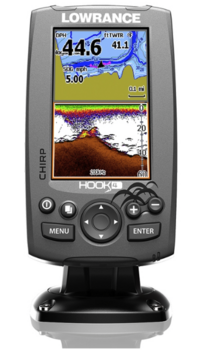 Foto - LOWRANCE HOOK-4, CHIRP + DOWNSCAN™