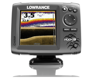 LOWRANCE HOOK-5x, CHIRP + DOWNSCAN™