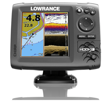 Foto - LOWRANCE HOOK-5, CHIRP + DOWNSCAN™