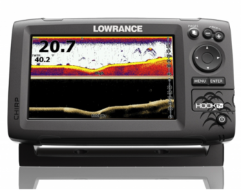 Foto - LOWRANCE HOOK-7x, CHIRP + DOWNSCAN™