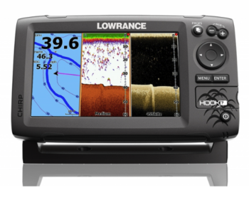 Foto - LOWRANCE HOOK-7, CHIRP + DOWNSCAN™