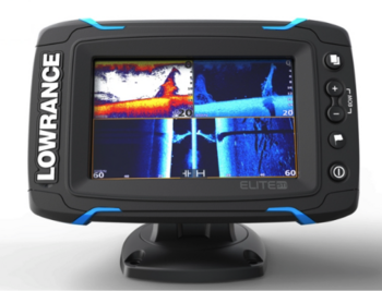 Foto - LOWRANCE ELITE 5Ti, MID/HIGH/TOTALSCAN™