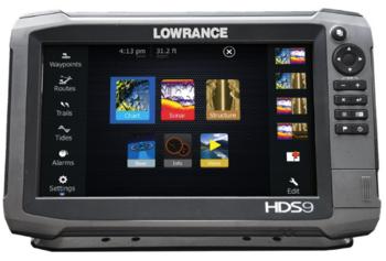 Foto - LOWRANCE HDS-9 GEN3, ANDURITA