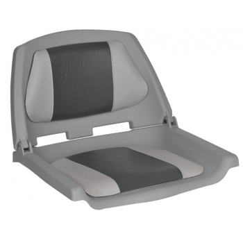 Foto - FISHERMANS SEAT FOLDING PADDED, GREY