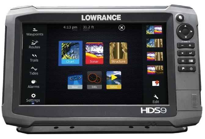 LOWRANCE HDS-9 GEN3, W/O TRANSDUCER