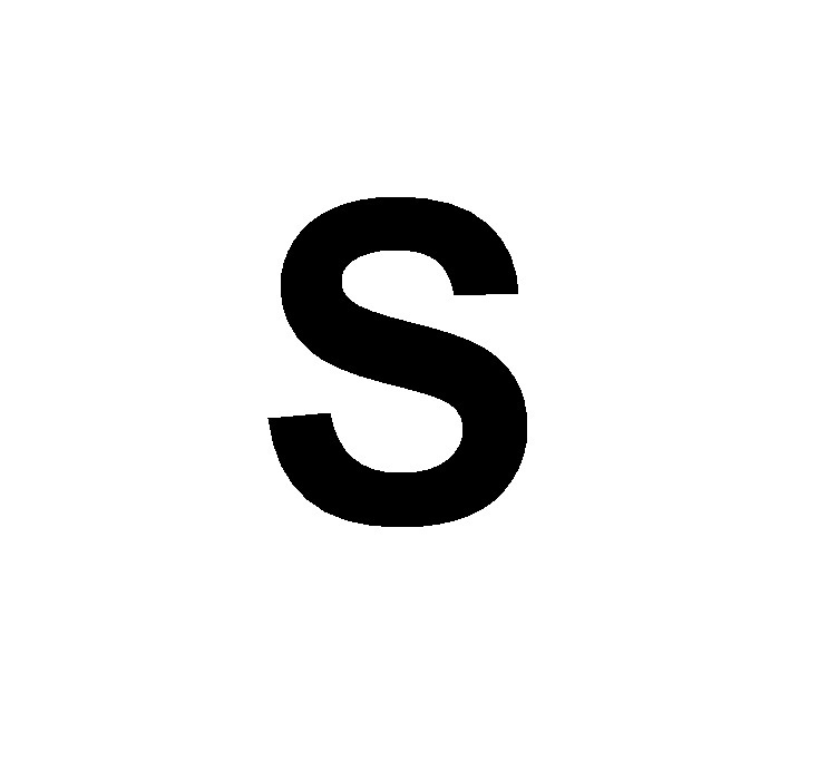 САМОКЛЕЯЩИЕСЯ БУКВЫ, 8 см, БУКВА C | 693x752