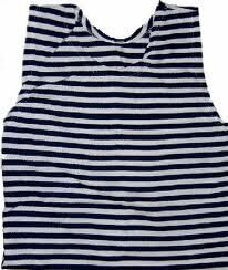 Foto - RUSSIAN SAILOR`S STRIPED VEST, no.62