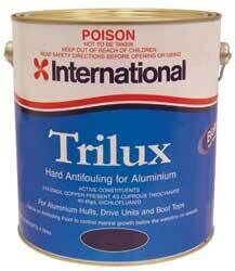 Foto - ANTIFOULING- INTERNATIONAL TRILUX, WHITE, 2,5 l
