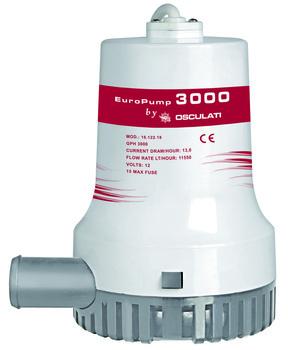 Foto - BILGE PUMP- EUROPUMP II 3000, 12 V