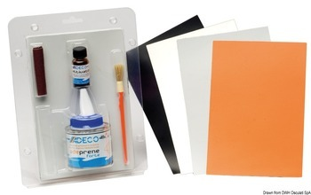 Foto - REPAIR KIT FOR NEOPRENE BOATS, GREY