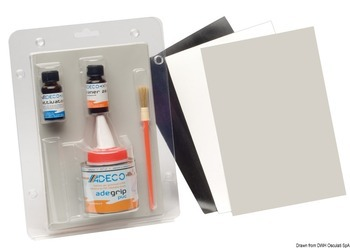 Foto - REPAIR KIT FOR PVC BOATS, BLACK