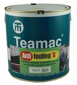 Foto - ANTIFOULING A- TEAMAC, BLUE, 2,5 l