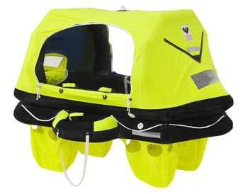 Foto - LIFERAFT FOR 8 PERSONS, RESCYOU PRO, CONTAINER