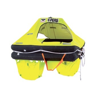 LIFERAFT FOR 6 PERSONS, RESCYOU COASTAL, CONTAINER