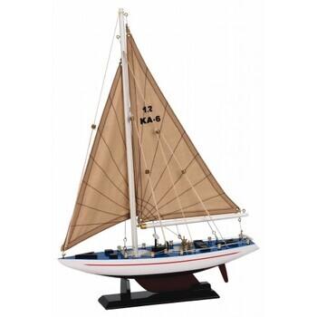 Foto - MUDEL- RACING YACHT MODEL, 30 cm