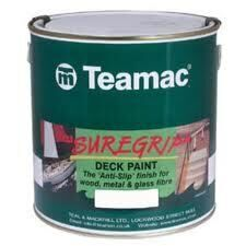 Foto - ANTI-SLIP PAINT- TEAMAC SUREGRIP, LIGHT GREY, 1 l