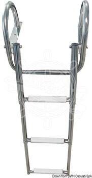 Foto - TELESCOPIC LADDER, 4-STEPS, 116 cm