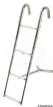 Foto - BOW TELESCOPIC LADDER, 3-STEPS, 110 cm