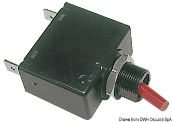 Foto - AIRPAX TUMBLER SWITCH, with FUSE , 5 A