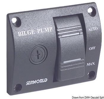 Foto - BILGE PUMP CONTROL PANEL- SEAWORLD , 24 V
