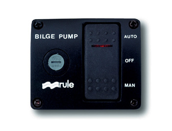 Foto - BILGE PUMP CONTROL PANEL- RULE, 24 V