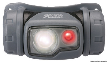 Foto - FOREHEAD TORCH- EXTREME, 2 x LED