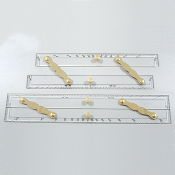 Foto - PARALLEL RULER, 38 cm