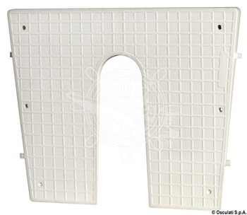 Foto - KNURLED PLASTIC STERN PROTECTION PLATE, 420 x 340 mm