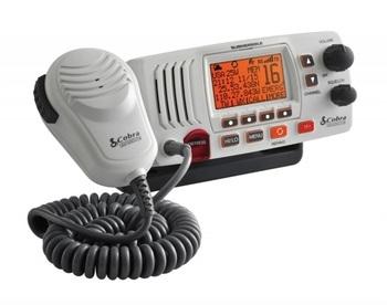 Foto - FIXED RADIO VHF- COBRA MR F57B, WHITE
