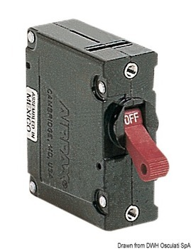 Foto - AIRPAX TUMBLER SWITCH, with FUSE , 50 A