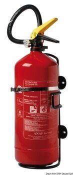 Foto - FIRE EXTINGUISHER POWDER, 6 kg