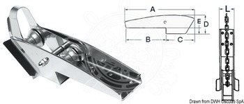 Foto - BOW ROLLER, S/S, 416 x 81 x 114 mm