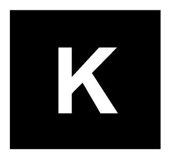 Foto - ISEKLEEPUV TÄHT, 20 cm, Täht K, VALGE