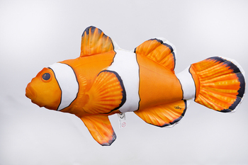 Foto - CUSHION, CLOWNFISH, ORANGE, 56 cm
