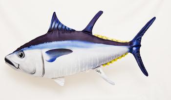 Foto - CUSHION, BLUEFIN TUNA GIANT, 100 cm
