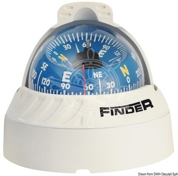 Foto - COMPASS- FINDER, TOP-MOUNTED, WHITE