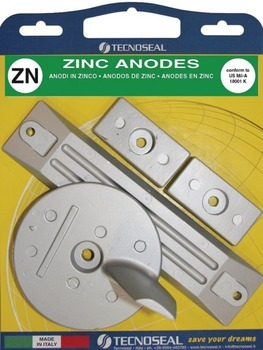 ANODE KIT, HONDA BF 75-130 HP