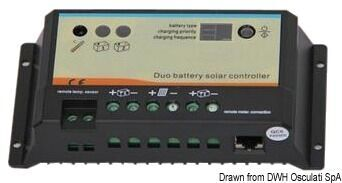 Foto - CHARGE CONTROLLERS FOR PANELS, 10 A