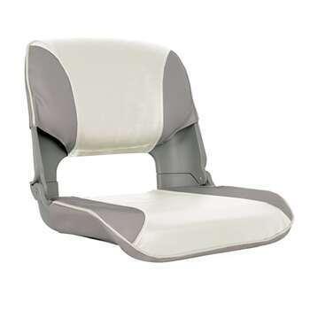 Foto - SKIPPER SEAT FOLDING, UPHOLST, GREY/WHITE