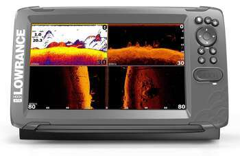 Foto - LOWRANCE HOOK2-12 TRIPLESHOT ROW, CHIRP + DOWNSCAN™ + SIDESCAN™