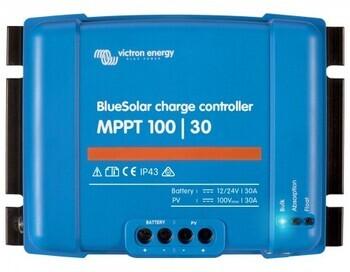 Foto - КОНТРОЛЛЕР ЗАРЯДКИ VICTRON ENERGY BLUESOLAR MPPT CHARGE CONTROLLER 12/24 V, 30 A