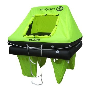 Foto - LIFERAFT FOR 4 PERSONS, WAYPOINT COASTAL, BAG