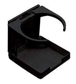 Foto - GLASS HOLDER, FOLDABLE, PLASTIC, BLACK