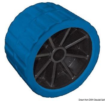 Foto - SIDE ROLLER, 120 x 75 x 15 mm, PVC, BLUE