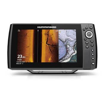 Foto - HUMMINBIRD HELIX 10 CHIRP MSI+ GPS G3N