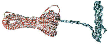 Foto - ANCHOR LINE WITH CHAIN, 8 mm, 30 m