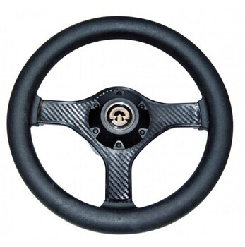 Foto - STEERING WHEEL, 280 mm, VR00, BLACK