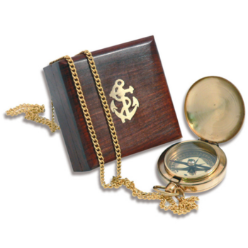 Foto - FOB COMPASS IN WOODEN BOX