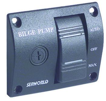 Foto - BILGE PUMP CONTROL PANEL- SEAWORLD, 12 V